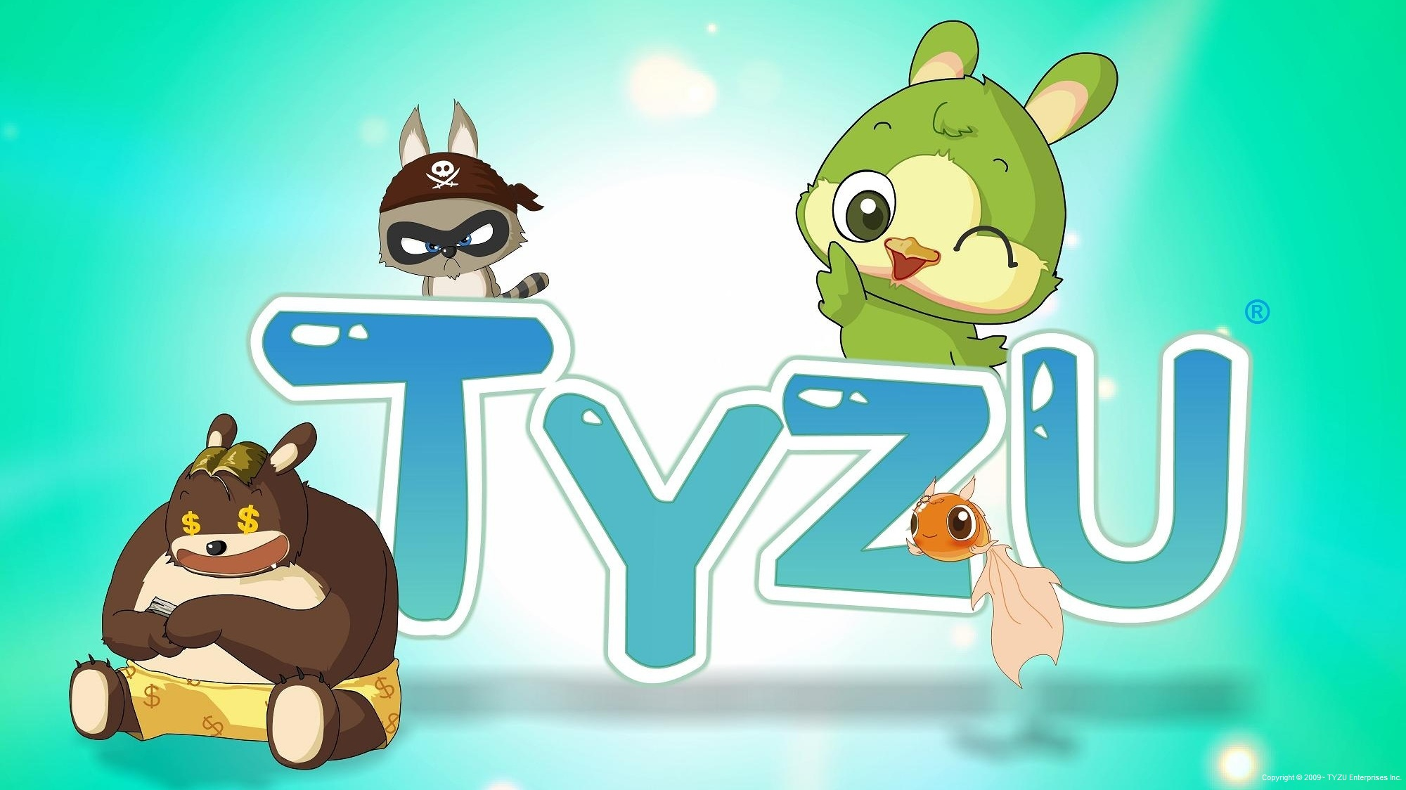 Tyzu Cute Cartoon Characters And Landscape Wallpapers And Music